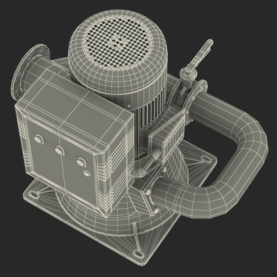 マイクロ水力発電機 royalty-free 3d model - Preview no. 29