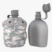 1QT Military Canteen 2 (Digital) 3d model