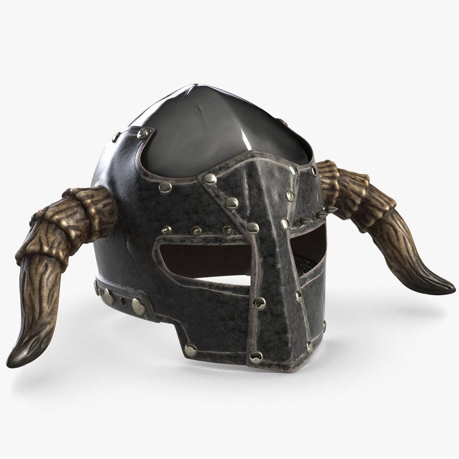 Dark Lord Helmet royalty-free 3d model - Preview no. 1