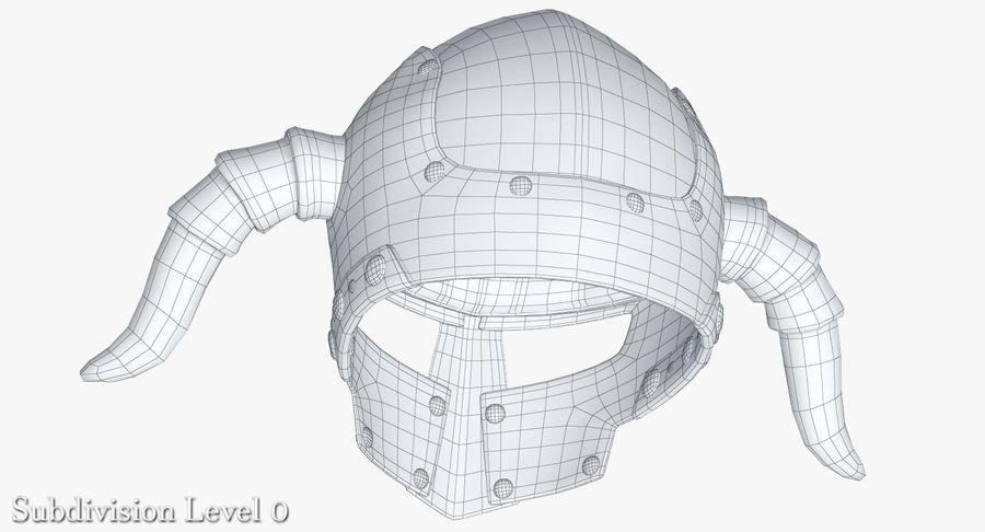 Dark Lord Helmet royalty-free 3d model - Preview no. 20
