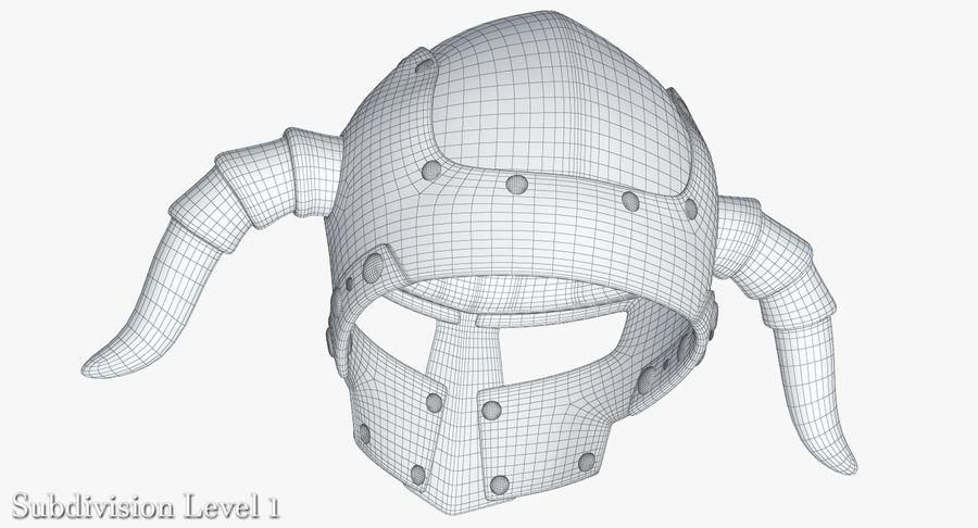 Dark Lord Helmet royalty-free 3d model - Preview no. 21
