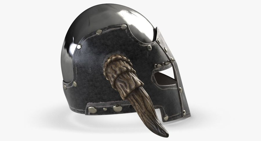 Dark Lord Helmet royalty-free 3d model - Preview no. 5