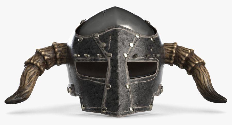 Dark Lord Helmet royalty-free 3d model - Preview no. 4