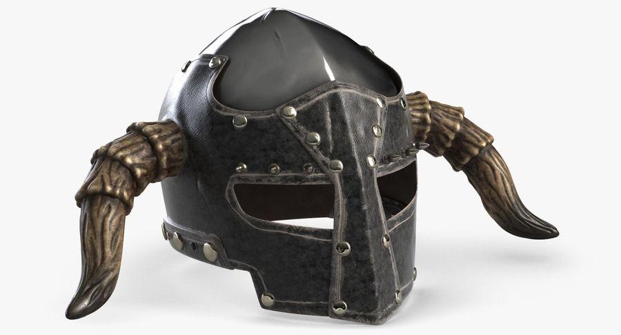 Dark Lord Helmet royalty-free 3d model - Preview no. 2