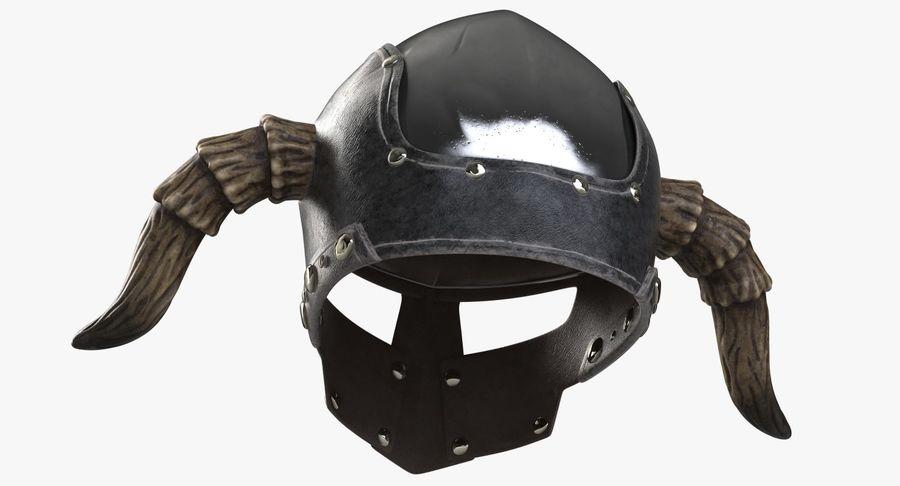 Dark Lord Helmet royalty-free 3d model - Preview no. 6
