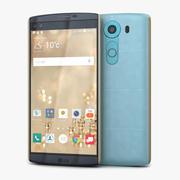 LG V10 Opal Blue 3d model
