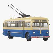 无轨电车MTB 82 d 3d model