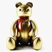Bear Gold(1) 3d model