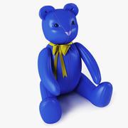 Bear Blue 3d model