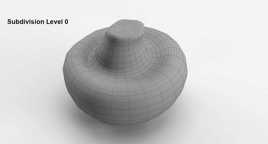 Paddenstoel Collectie royalty-free 3d model - Preview no. 16