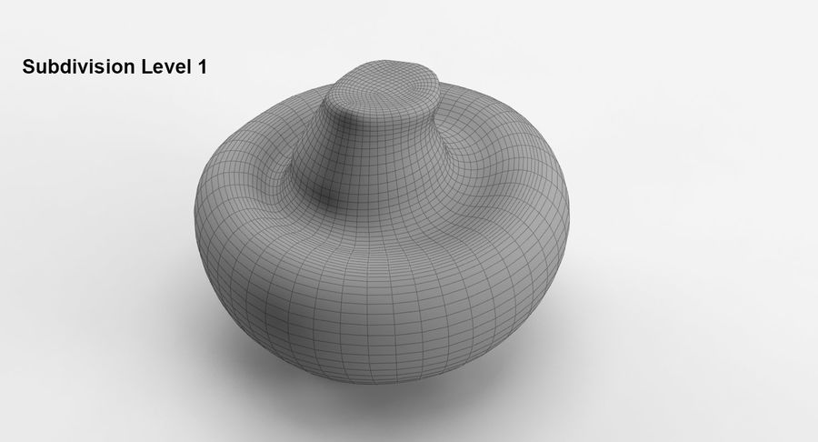 Paddenstoel Collectie royalty-free 3d model - Preview no. 17