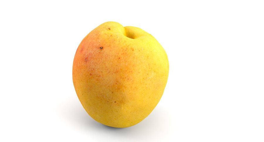 Fruits royalty-free 3d model - Preview no. 12