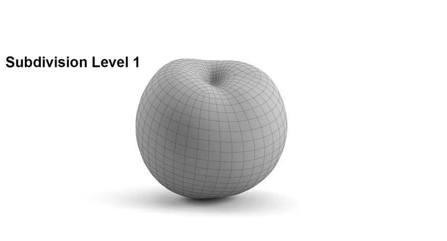 Fruits royalty-free 3d model - Preview no. 9