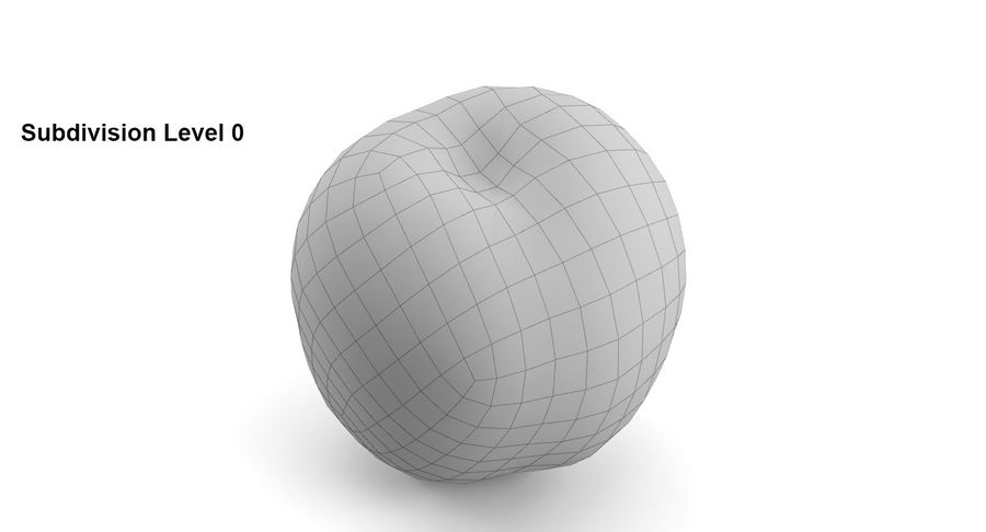 Fruits royalty-free 3d model - Preview no. 25