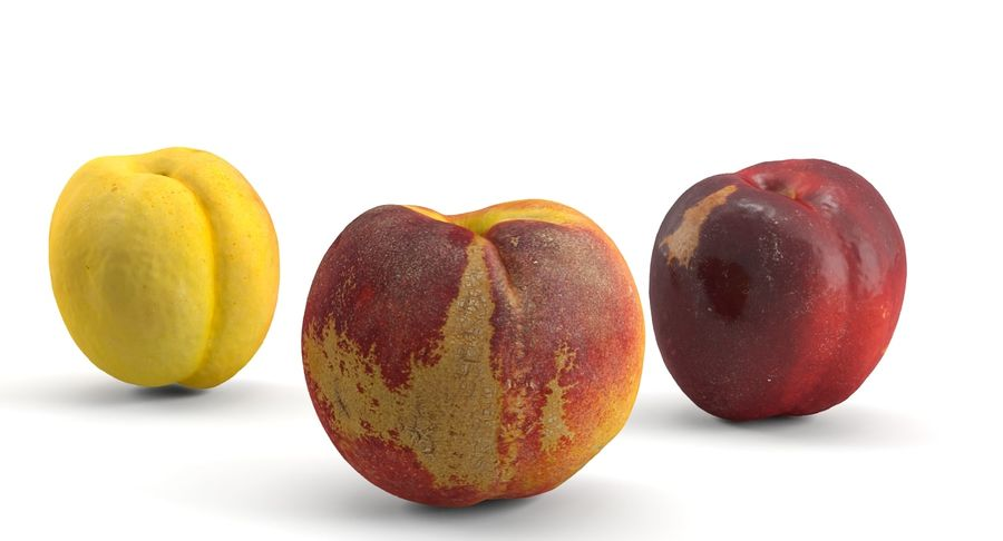 Fruits royalty-free 3d model - Preview no. 2