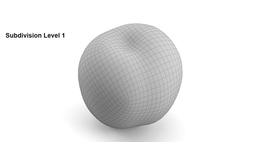 Fruits royalty-free 3d model - Preview no. 26