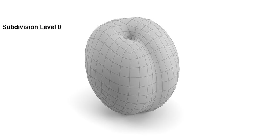 Fruits royalty-free 3d model - Preview no. 17