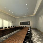 Pokój spotkań 3d model