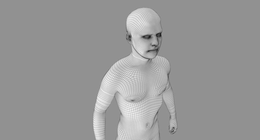토플리스 남자 royalty-free 3d model - Preview no. 17