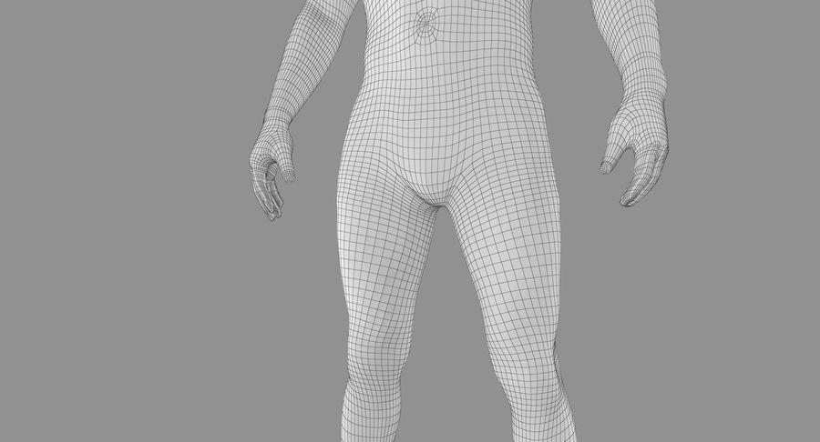 토플리스 남자 royalty-free 3d model - Preview no. 39