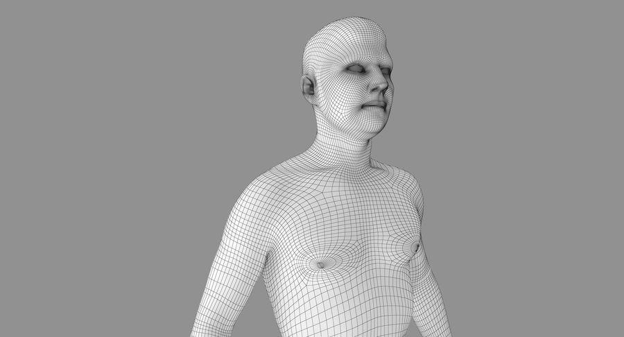 토플리스 남자 royalty-free 3d model - Preview no. 13