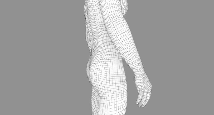 토플리스 남자 royalty-free 3d model - Preview no. 23