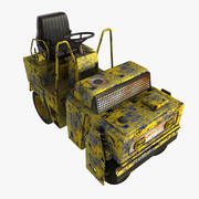 Old Rusty Vehicle 3d model