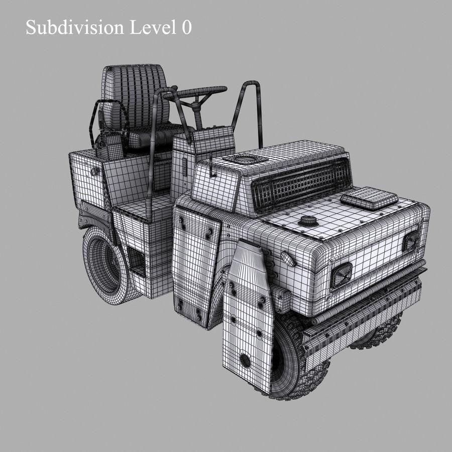 Veículos Industriais royalty-free 3d model - Preview no. 11
