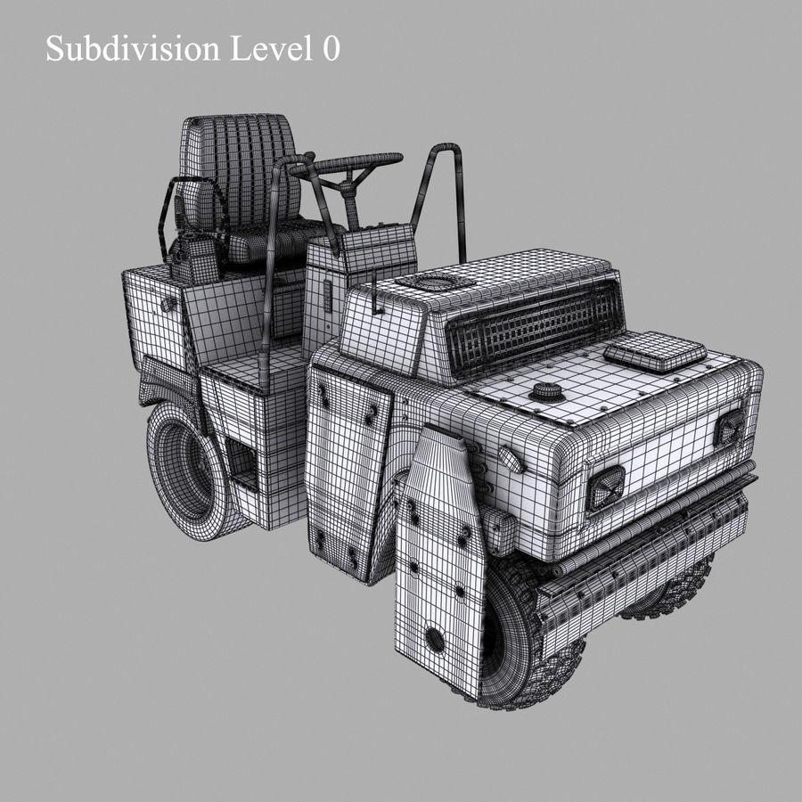 Vehículos industriales royalty-free modelo 3d - Preview no. 11