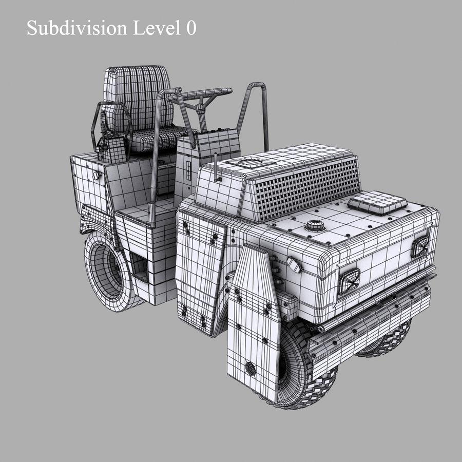 Veículos Industriais royalty-free 3d model - Preview no. 10