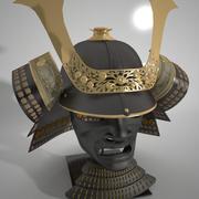 samurai armor shogun 3d model
