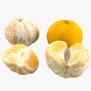 Mandarin Bundle 3d model