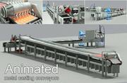 Transportadores de fundição animados 3d model