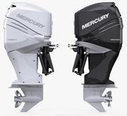 Mercury Verado 350 Power outboard engine 3d model