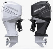 Mercury Verado 350 Power outboard engine 3d model