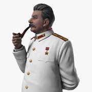 スターリンの置物 3d model