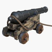 Kanonenschiff 3d model