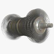 Turbine à vapeur 3d model