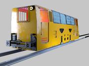 locomotive Mining train 3d model