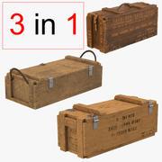 弾薬箱コレクション 3d model