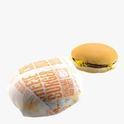 Cheeseburger-Sammlung 3d model