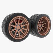 Rueda 10TS modelo 3d