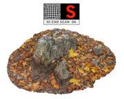 Las skalny jesienią 8 tys 3d model