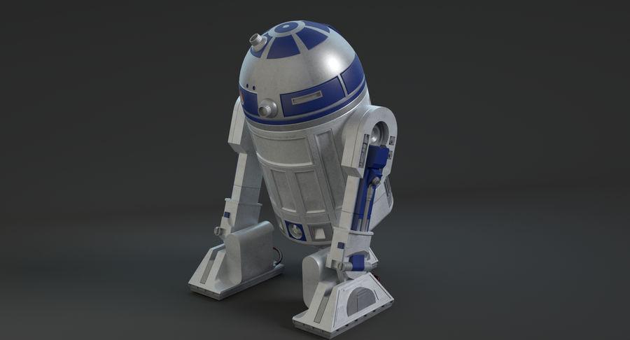 R2D2 royalty-free 3d model - Preview no. 10