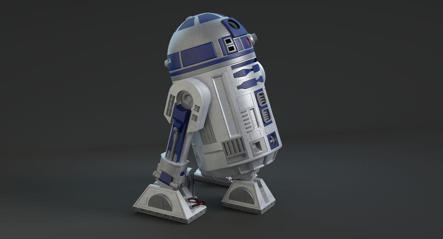 R2D2 royalty-free 3d model - Preview no. 8