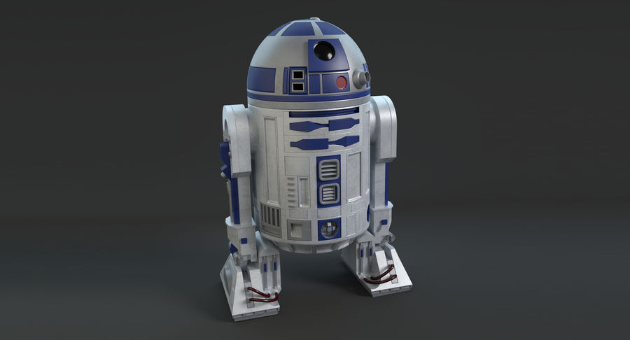 R2D2 royalty-free 3d model - Preview no. 5