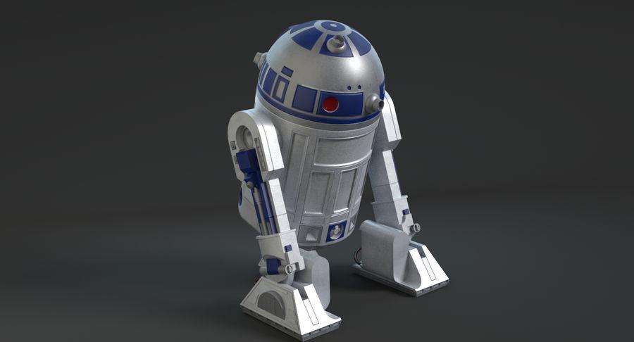 R2D2 royalty-free 3d model - Preview no. 12