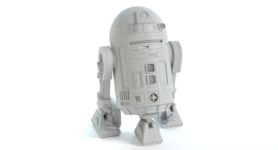 R2D2 royalty-free 3d model - Preview no. 16