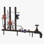 Endüstriyel Borular 2 3d model