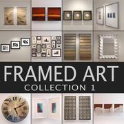 Colección de arte 1 modelo 3d